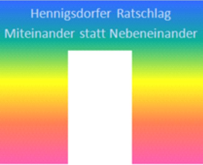 Logo Hennigsdorfer Ratschlag